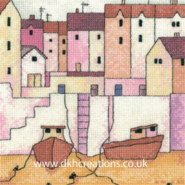 Harbour Wall Cross Stitch Kit
